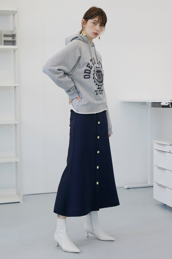 Halle Mermaid Skirt_Indigo Blue (2차 리오더)