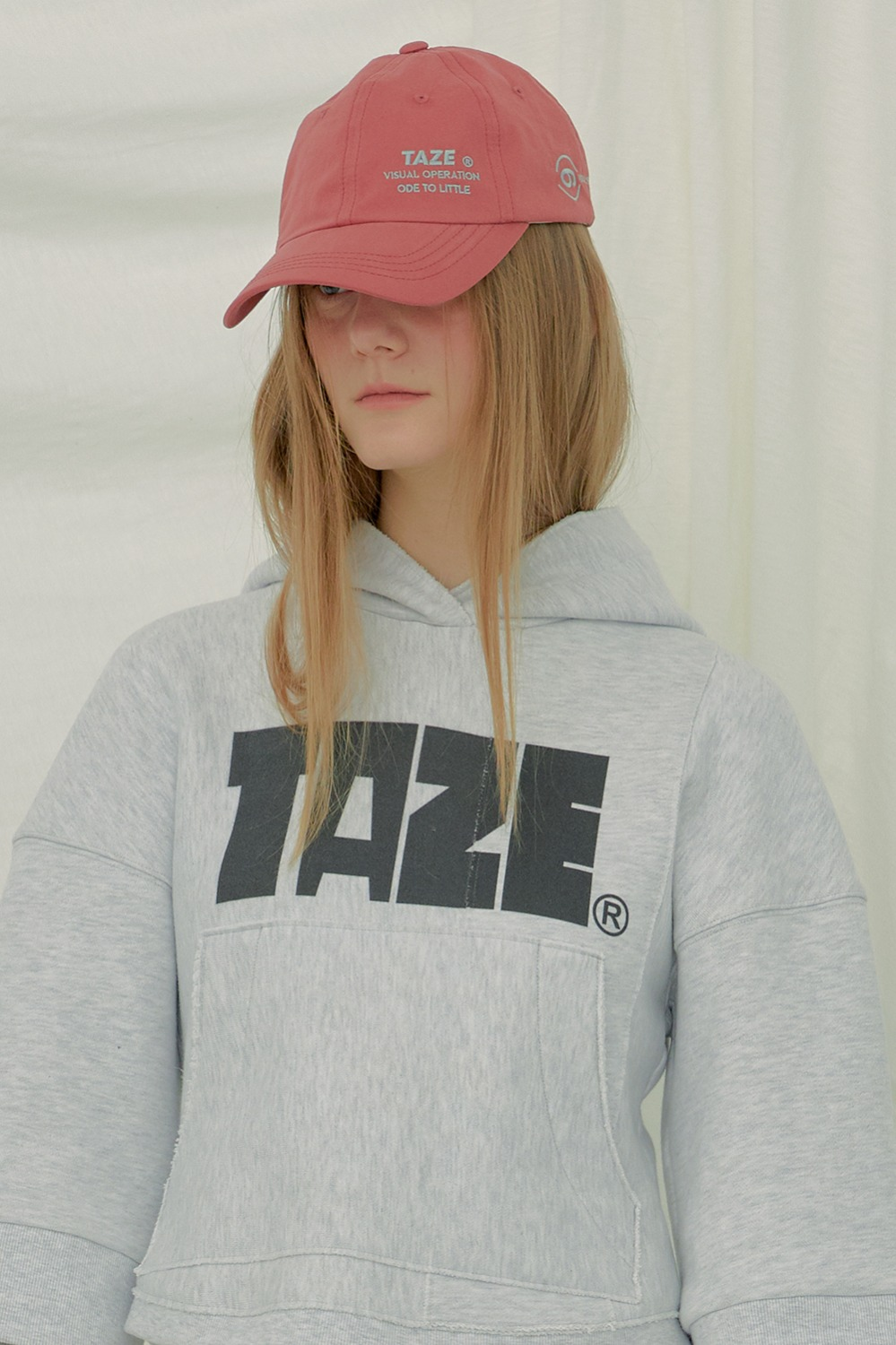 TAZE Shallow Cap_Brick Red