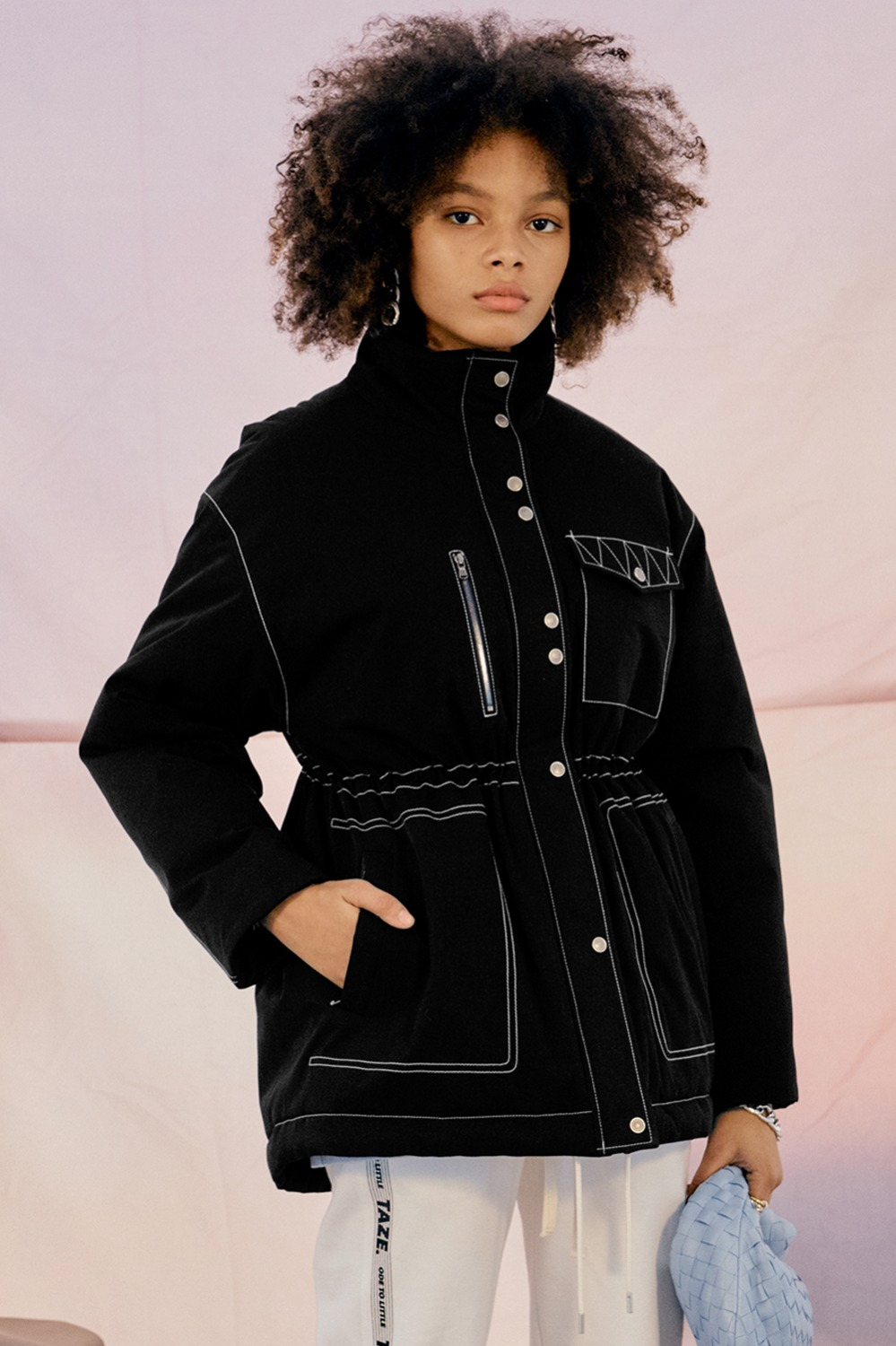 Tonya Puffer Jacket_Black (1차 리오더)