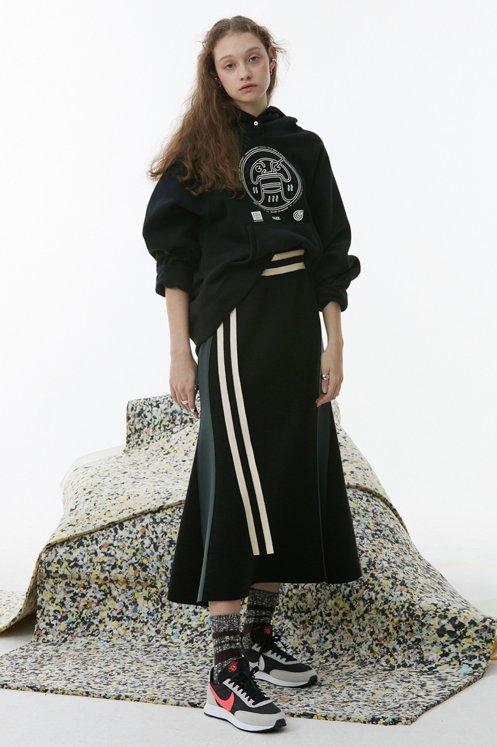 Loda Belt Skirt_Black