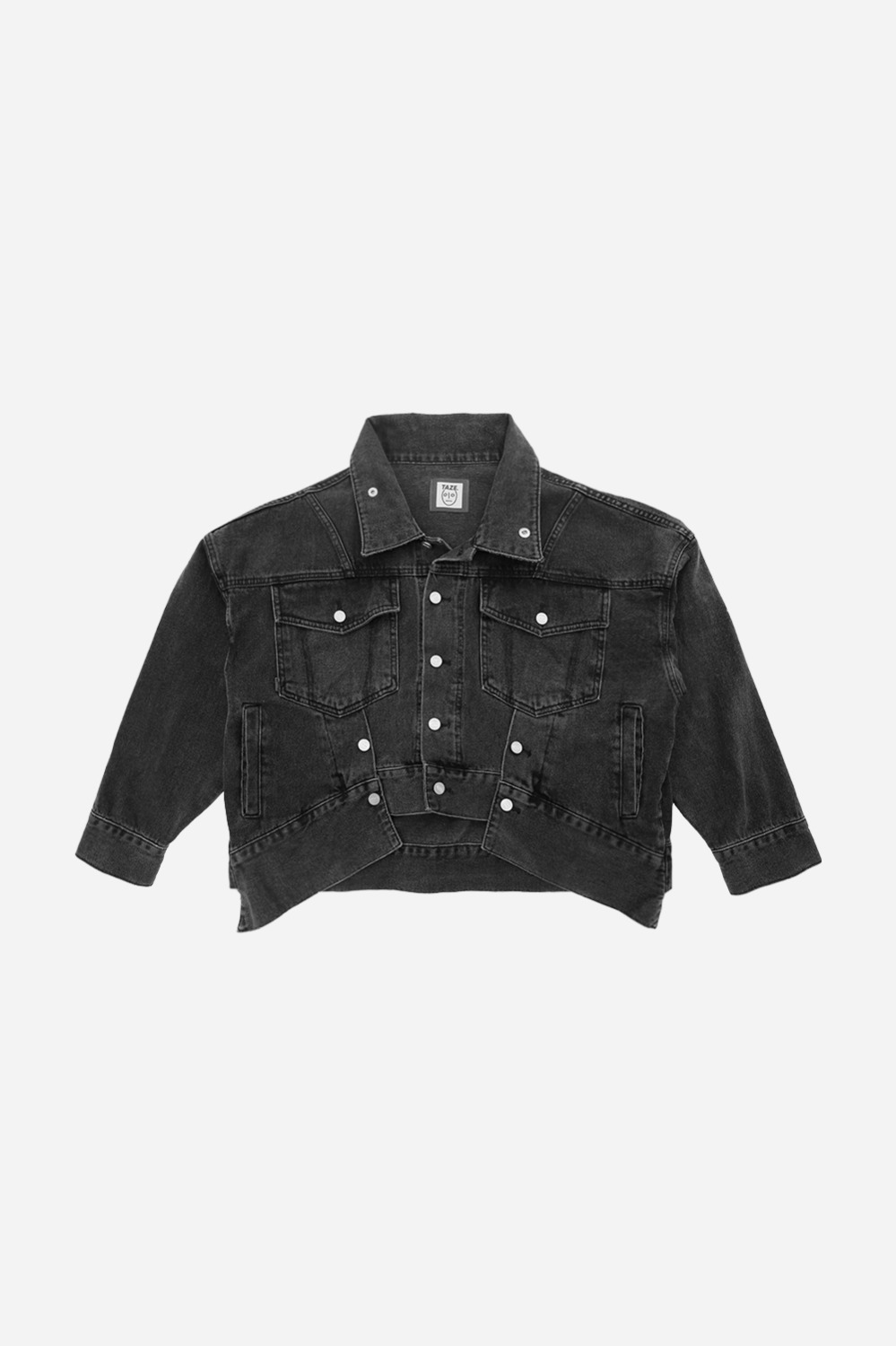 Debbie Denim Jacket_Black (3차 리오더)